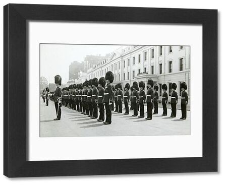 wellington barracks, parade, Album 140, Grenadiers3380