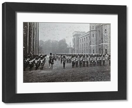 1903, 3rd battalion, lt col the hon js staubyn, parade for changing quarters, tower of london, Album 29, Grenadiers1151