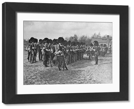 march 1910, menzies reading camp orders, pirbright, Album 31, Grenadiers1288