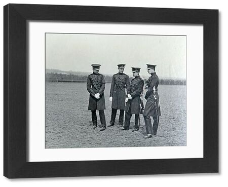 stocks, miller, hope, lovett, practice for trooping colour, pirbright, 1912, Album 33, Grenadiers1514