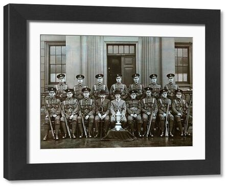 wellington barracks, sergeants, 1930, Album 34, Grenadiers1590