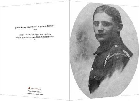 private, horace calvert, grenadier guards, december 1918, cologne, Box 3, Grenadiers4600