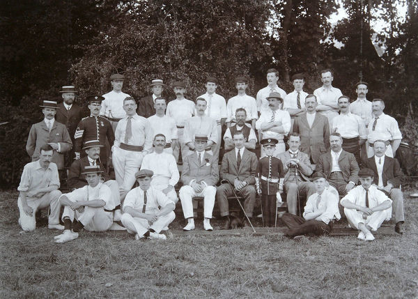 1 august 1911, park place cricket club, sergeants 1st battalion, Album 31, Grenadiers1342