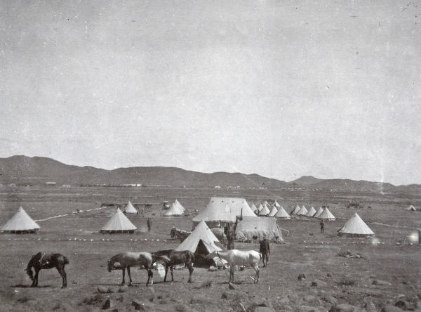 1902 de aar no 5 coy oficers mess and camp
