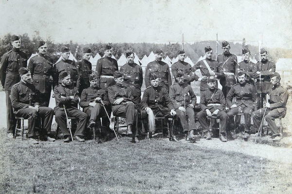 1st battalion, colonel and officers, Album 10, Grenadiers0617