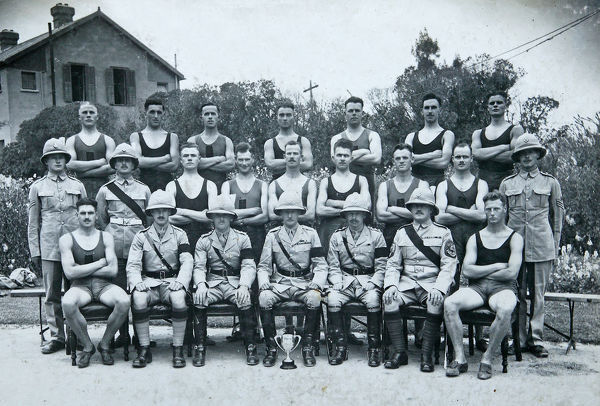 2nd battalion athletic team 1936