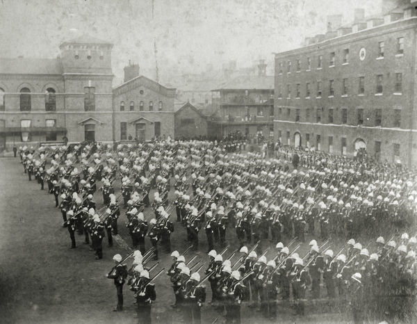 2nd battalion leaving for egypt, Album 10, Grenadiers0594