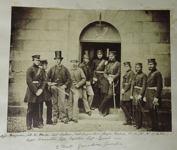 2nd Bn Officers in 1860s