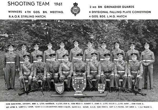 2nd battalion shhoting team 1961 darrington ashcroft