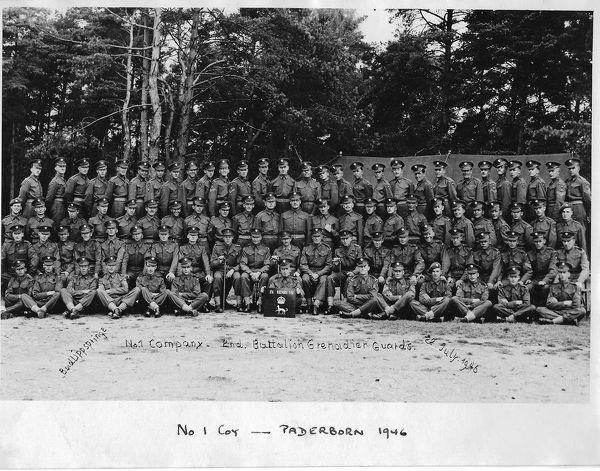 2nd Bn No 1 Coy Paderborn 1946