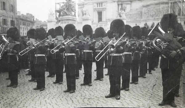 band rome 1918. band, rome, 1918, Box 3, Grenadiers4661