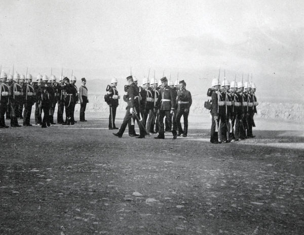 buena vista barracks, inspection, Album 17, Grenadiers0836