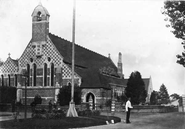 church, caterham, 1910, Album 33, Grenadiers1478