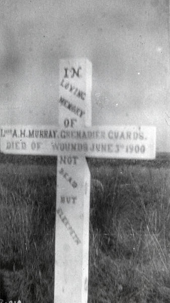 grave of a h murray, Album 24, Grenadiers0982