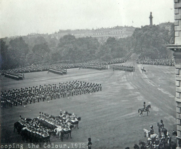 horse guards parade, trooping the colour, 1912, Album 33, Grenadiers1543