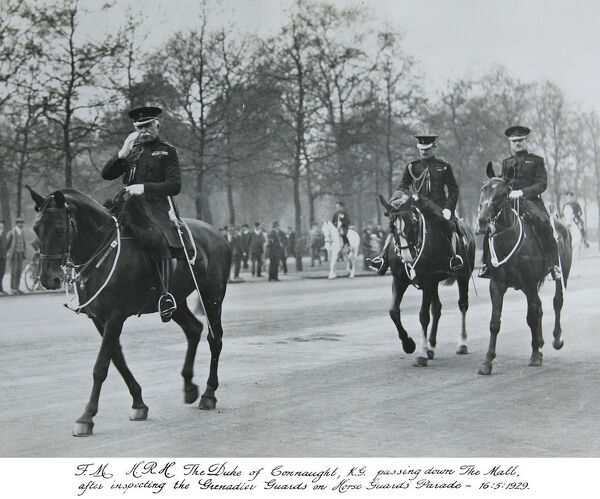 hrh duke of connaught, mall, 16 may, 1929, Album 30a, Grenadiers1225