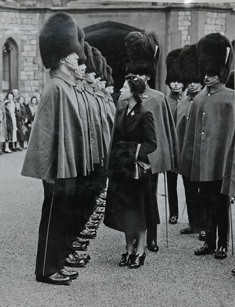 hrh princess elizabeth inspection windsor 21 april