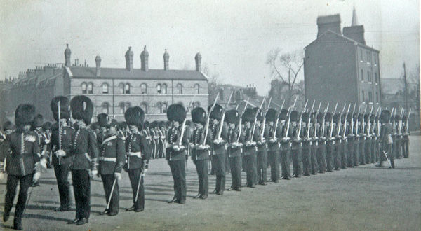 inspection, 1912, chelsea barracks, Album 33, Grenadiers1553