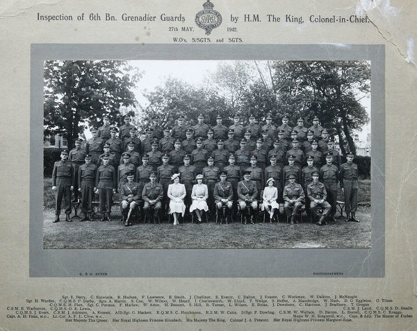 inspection 6th battalion 27 may 1942 warrant officers