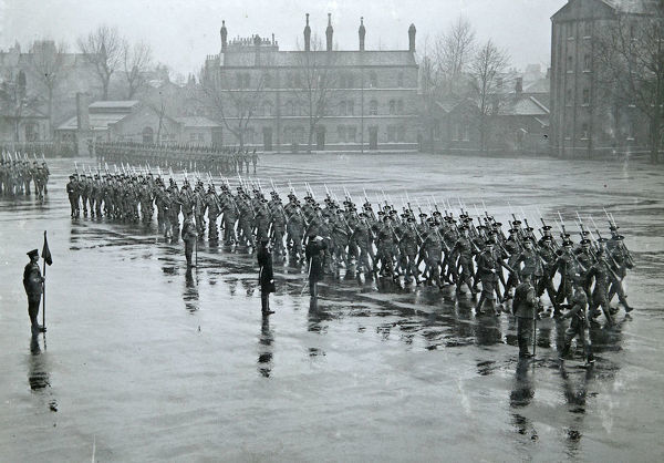 inspection by lt col, 7 february, 1936, Album 149, Grenadiers3387