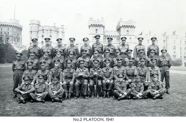 no.2 platoon, 1941, cottam, jones, virgo, foreman, fisher, wright, hambleton, jennings, cartwright, hillman, munson, toddington, barrowcliffe, patterson, oakes, steer, gardler, denman, blackwell, benson, lennox, chapman, bull, edmundson, anderson