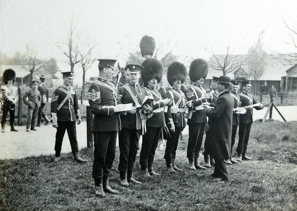sergeants-in-waiting, pirbright camp, Album 33, Grenadiers1499