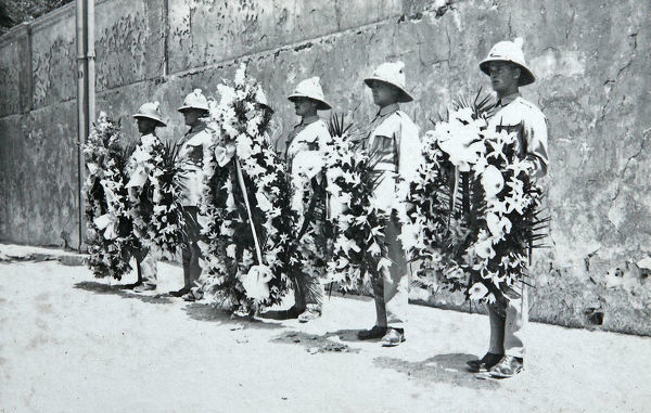 wreath laying, Album 102, Grenadiers3094