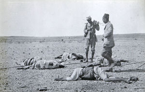 11.30am 1898 sept 2nd zeriba looting after the battle