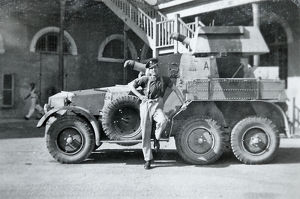 11th hussars armoured car