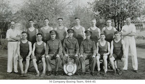 14 company boxing team 1944-45