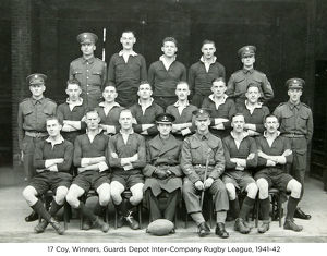 17 coy winners guards depot inter-company rugby league