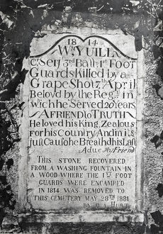 1814 tombstone william yuill