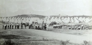 1892 ash camp manoeuvres