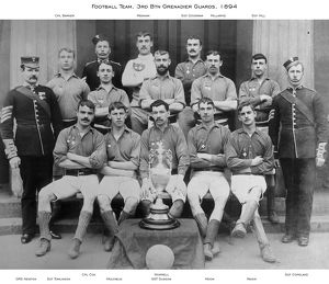 1894 3rd btn cpl baker cpl cox football team