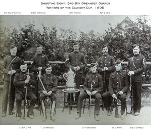 1895 3rd btn grenadier guards c/sgt j browne