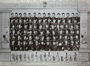 1898 3rd battalion pay sergeants staff warrant officers