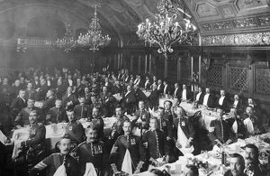 1903 earle sergeants club dinner