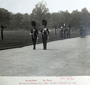 1910 buckingham palace hm the king hrh duke of connaught