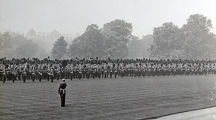 1910 buckingham palace review for regiment by king george v