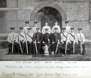 1912 c/sgt j l capper c/sgt s jones drill sgt h wood