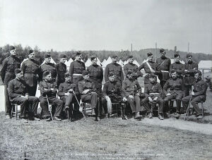 1st battalion colonel and officers