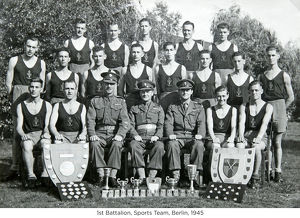 1st battalion sports team berlin 1945