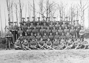 1st party recruits march 1910 pirbright