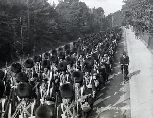 2nd battalion band 1913
