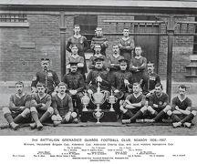 2nd battalion football club 1906-7 winners household brigade cup