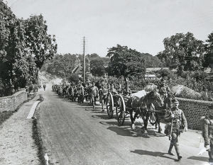 2nd battalion manoeuvres 1926
