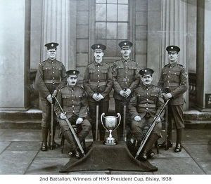 2nd battalion winners of hms president cup bisley