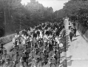 2nd battallion band 1913