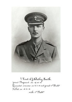 3669 2nd Lt C J Dudley Smith