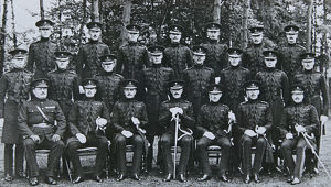 3rd battalion 1925 or 1926 capt g wall lt col c blundell